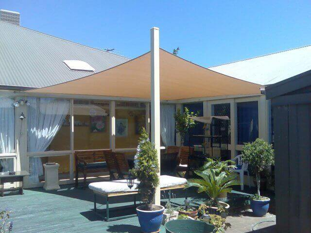 shade sail - shade sail - voile d'ombrage
