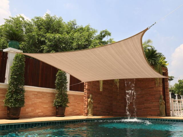 shade sail -  protection solaire